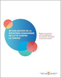 couverture du rapport sur la mobilisation des patients, du public et des intervenants